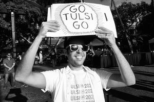 Go Tulsi Go by Peter Adams.