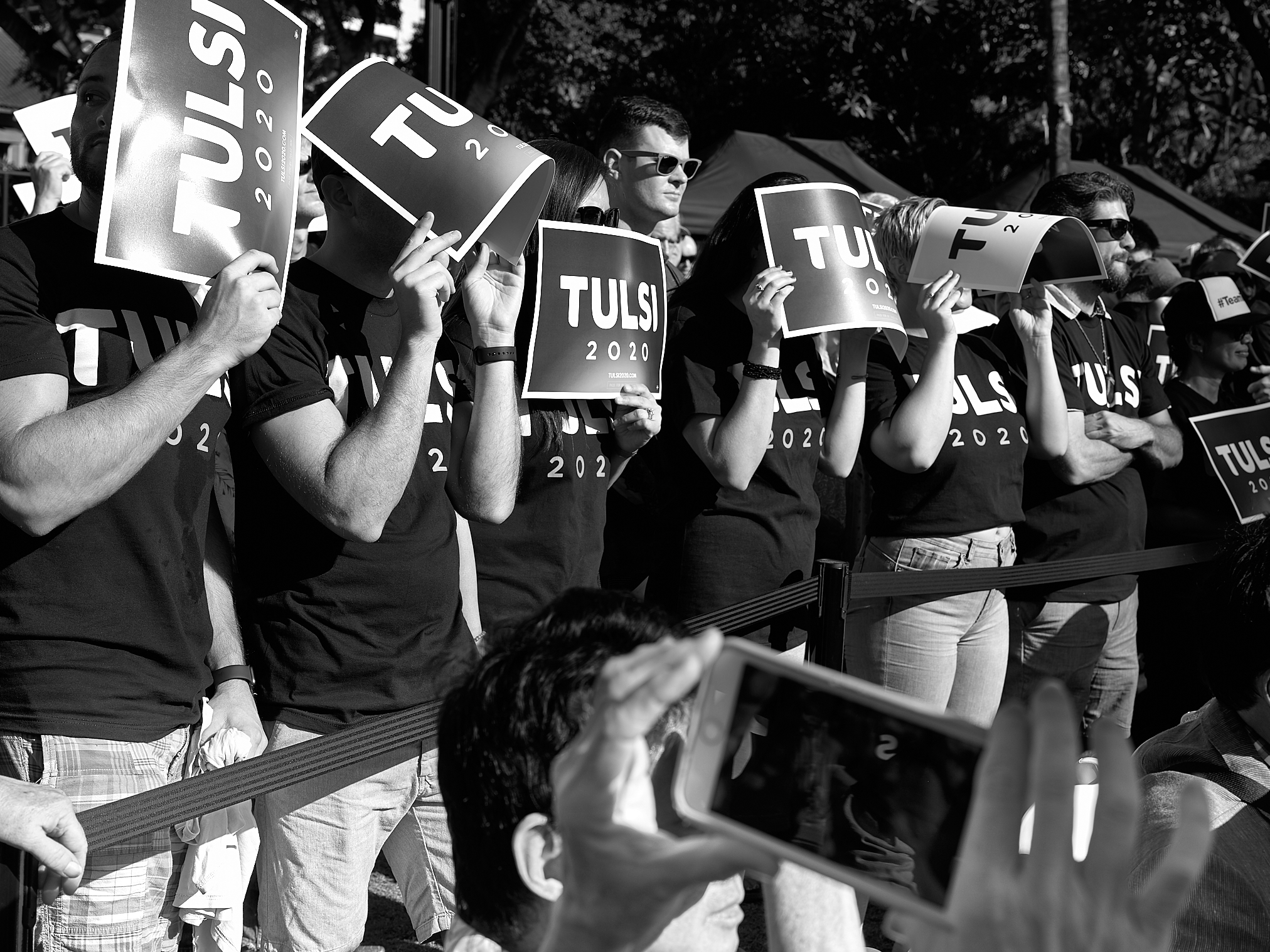 Tulsi 2020 Campaign Kickoff Rally by Peter Adams.