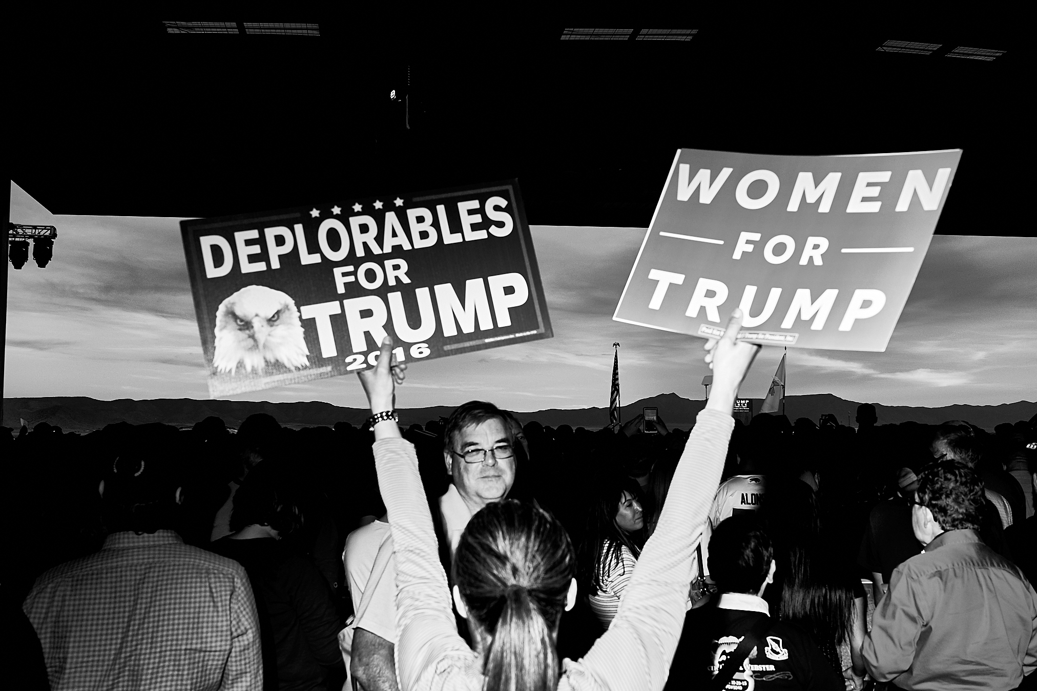 Deplorables for Trump by Peter Adams.
