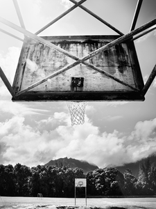 Island Basketball Court by Peter Adams.