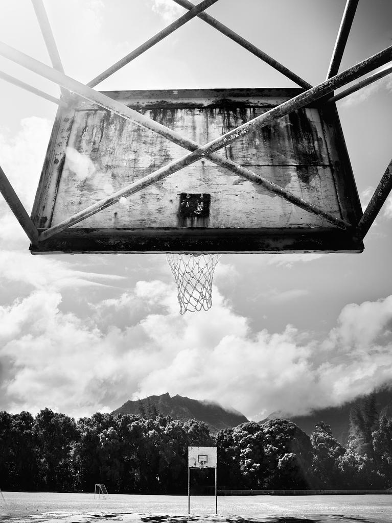 Island Basketball Court by Peter Adams.