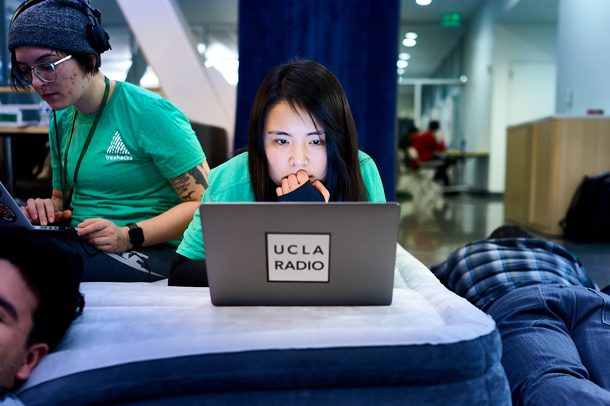 Student Hackers by Peter Adams.