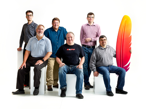 Apache Software Foundation Founders by Peter Adams.