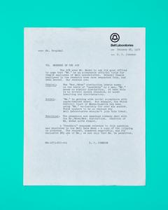 Ms. Proposal Memo by Peter Adams.