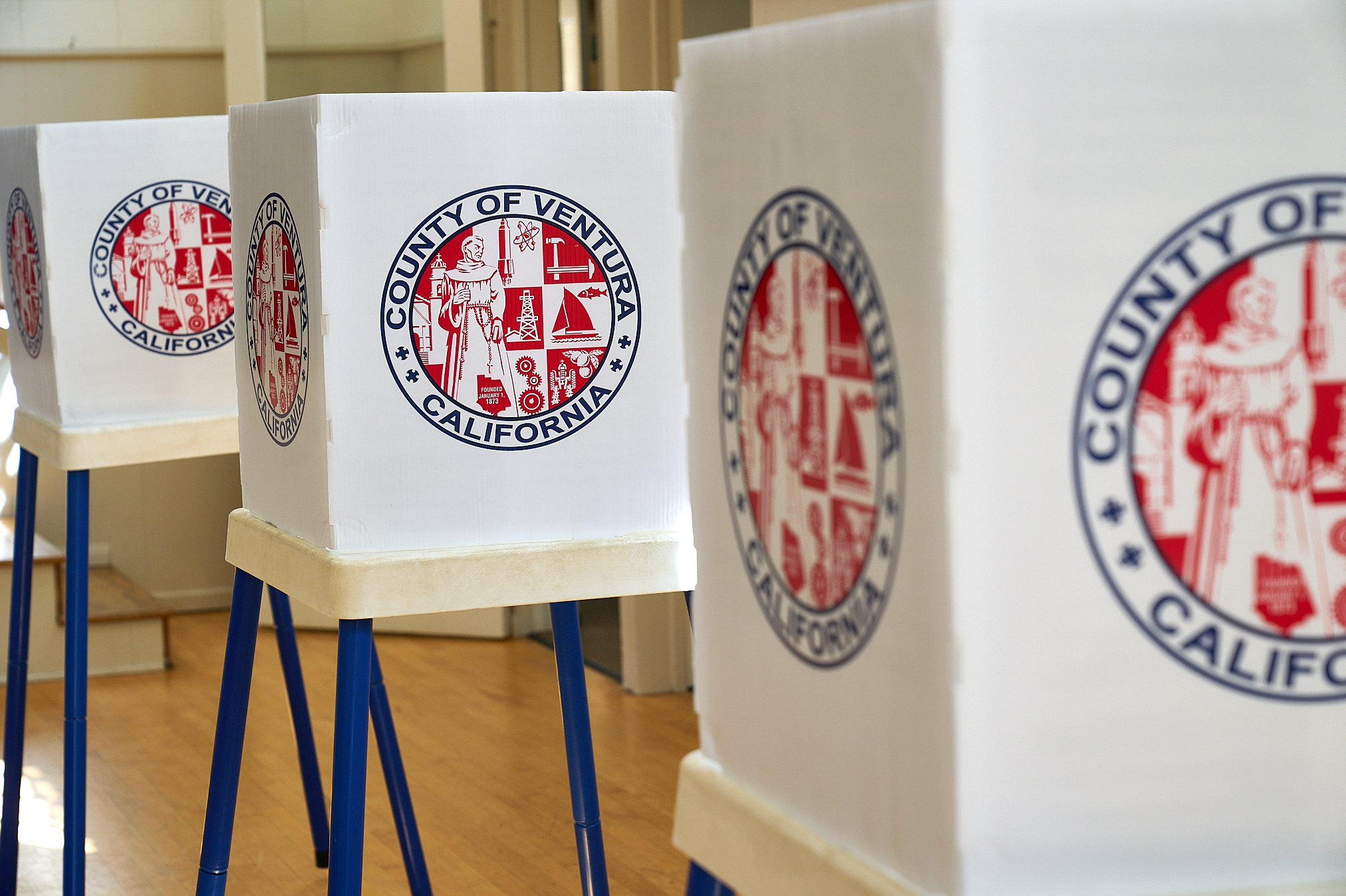 2020 California Presidential Primary Voting. democracy, election, election security, politics, voting, voting machines.