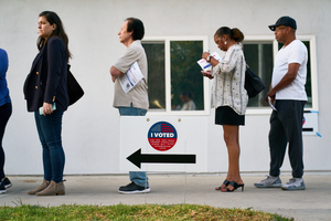 2020 California Presidential Primary Voting. LA County, VSAP, democracy, election, election security, politics, voting, voting machines.