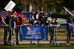 Trump Rally Beverly Hills. political sign, political campaign, political right, political rally, election 2020, rally, trump 2020, trump, election, politics, political.
