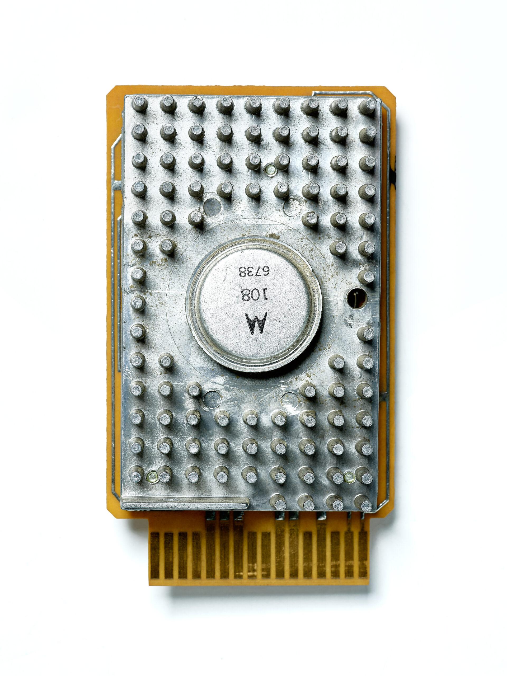 IBM SMS Card EDA. SMS Card, circuit board, computer, mainframe, tech history, transistors, vintage computing.